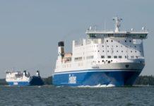 Finnlines vessel