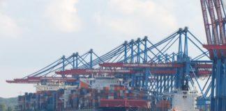 Das CTA der HHLA im Hamburger Hafen ist eins der modernsten Containerterminals