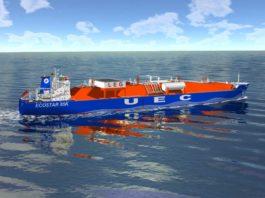 Entwurf des Ethylen-Tankers für die Reederei Hartmann. Foto: Hartmann
