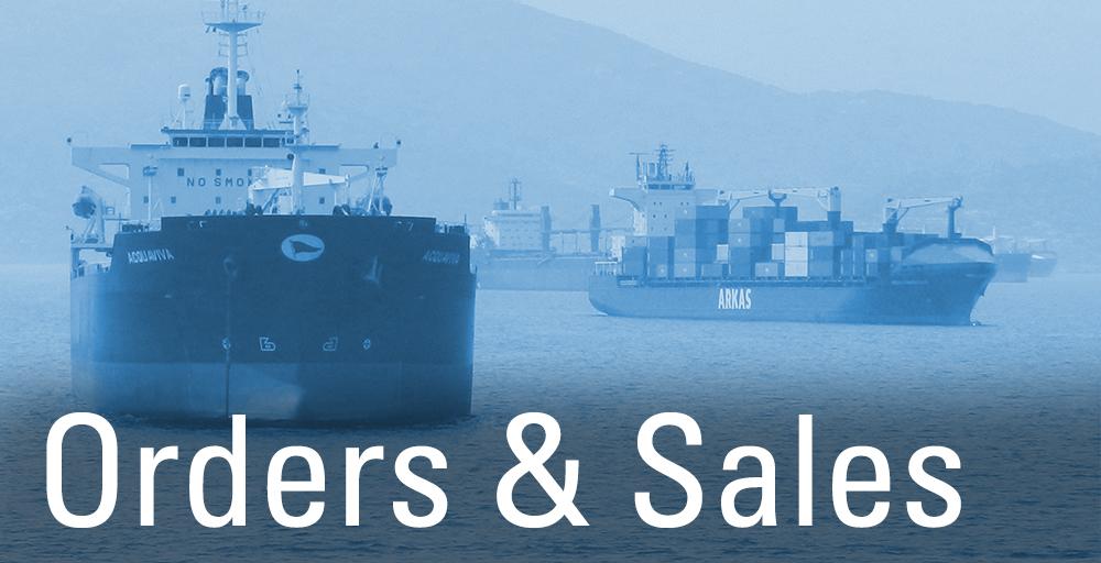 Orders Sales-flach