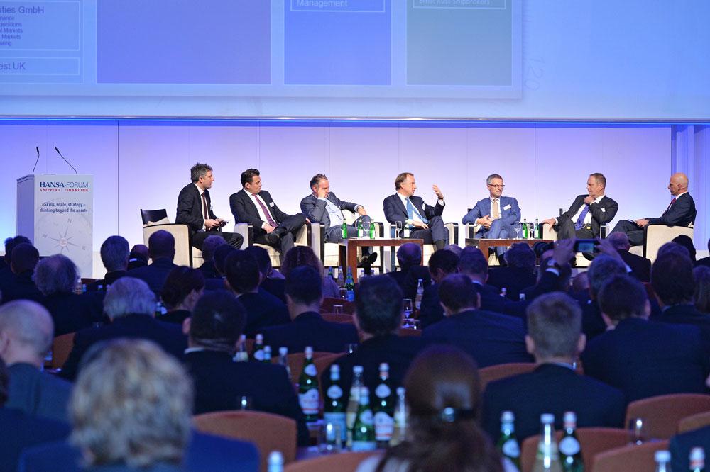 Expert Panel and Auditorium 20 HANSA Forum