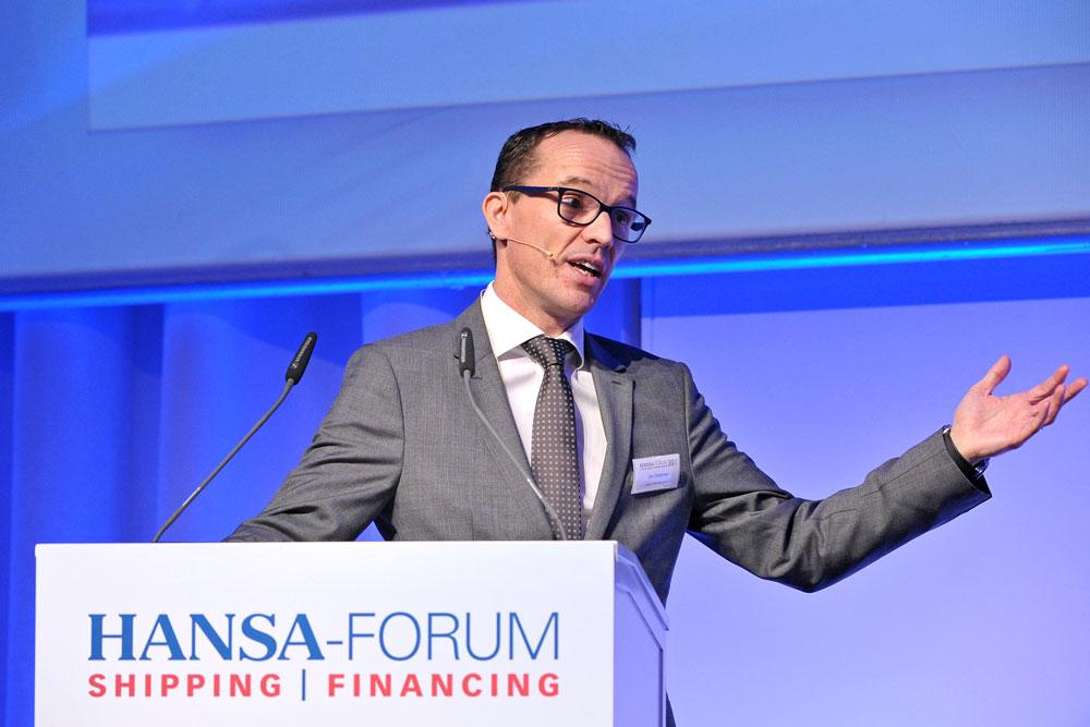 Jan Dielemann at 20 HANSA Forum