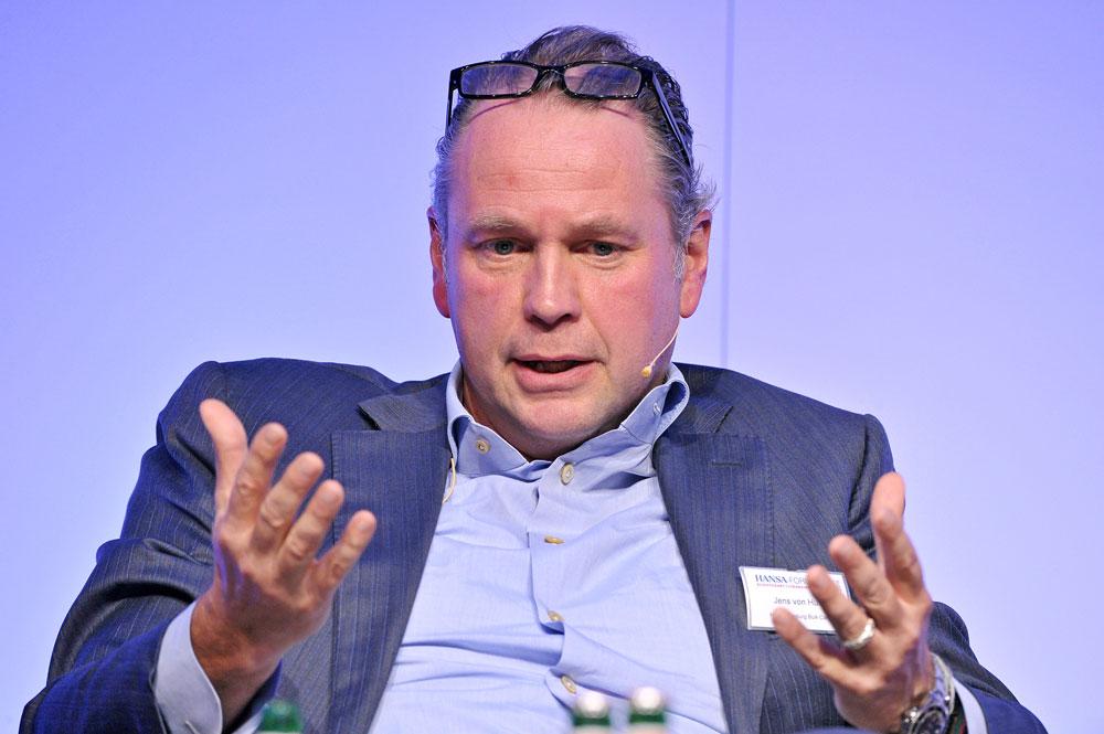 Jens von Husen at 20 HANSA-Forum