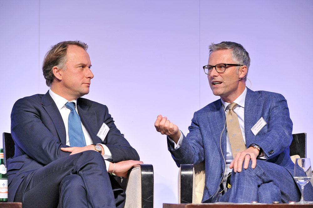 Mahnke and Van Meenen at 20 HANSA-Forum