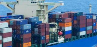 Danaos container vessel