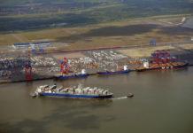JadeWeserPort, Hamburg, Eurogate, Zugshuttle