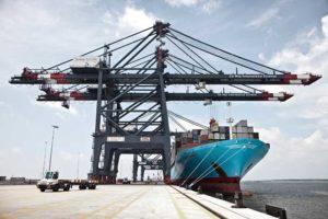Auch das Terminalgeschäft leidet unter den schwierigen Bedingungen in der Containerschifffahrt. Foto: Maersk