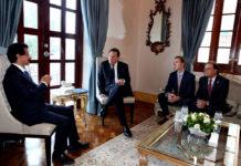 DP World CEO meets President od Panama