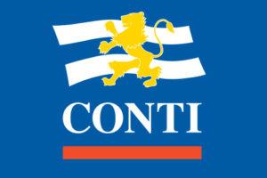 Conti, Offen