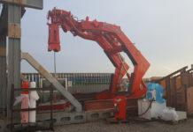 Vestdavit has developed the PAP-16000 davit lifting force