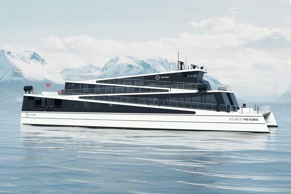 Neubau »Future of the Fjords« fährt komplett elektrisch - Hansa ...