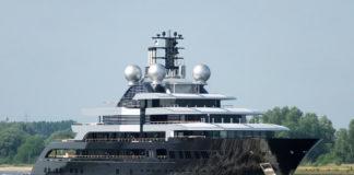 Lürssen, Luerssen, Thunder, Mega-Yacht