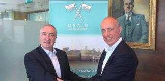 Alasdair Evitt, Group Director, Ship Management East, V.Group and Hugh Williams, CEO, Graig Shipping