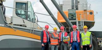 Kloosterboer hat von Liebherr einen neuen Hafenmobilkran erhalten