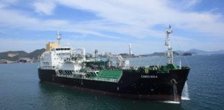 Shell, LNG, Bunkerschiff