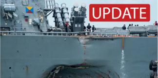 USS John McCain, Singapur, Suche
