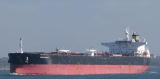 der Aframaxtanker »Monterey« gehört zur Flotte von TMS Tankers