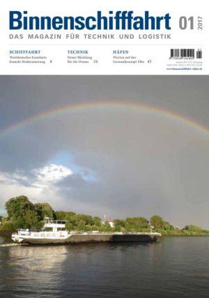 Binnenschifffahrt Ausgabe cover Januar 2017
