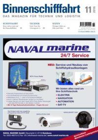 Binnenschifffahrt cover November 2016