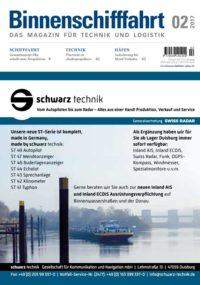 Binnenschifffahrt cover Februar 2017