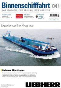 Binnenschifffahrt Magazin cover April 2017