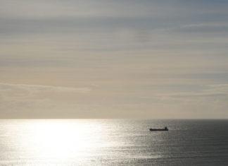 Schiff, Horizont, Weite