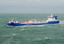 Der Tanker »Bit Okland« wurde von bremenports zum umweltfreundlichsten Schiff gekührt, das die bremischen Häfen 2016 angelaufen hat