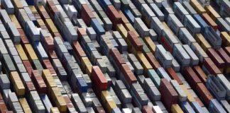ISL, Containerumschlag, Container Jade weser port Containerumschlag