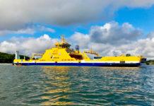hybrid electric ferry elektra finferries