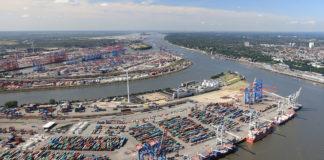 Hafen Hamburg Luftbild 2017