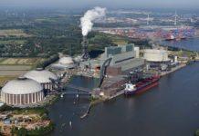 Brunsbüttel Ports verlängert seine Tätigkeit am Heizkraftwerk Moorburg