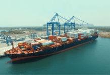 Container Ship calling Quetzal Terminal Guatemala
