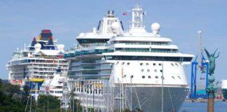 Den Copenhagen Malmö Port (CMP) haben 2017 325 Schiffe mit insgesamt 850.000 Passagieren angelaufen