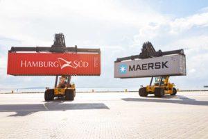 Hamburg Süd, Maersk, Übernahme