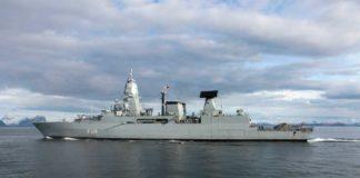Die Fregatte »Sachsen« unterstütz die Operation »Sophia«