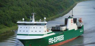 Der frisch umbenannte RoRo-Frachter »Miramar Express« ex »Miranda«