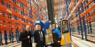 Nordfrost hat in Wilhelmshaven ein neues Tiefkühlhaus eröffnet