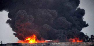 Sanchi, CF Crystal, Feuer, Brand, Havarie, Explosion