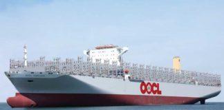 OOCL, Samsung, Indonesia, 21.400 TEU, Mega-Boxer,