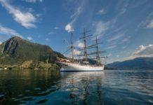 Statsraad Lehmkuhl, Tall Ship, Segelschiff, Großsegler