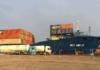 Die »Wes Amelie« bezieht im Hafen von Rotterdam LNG von Nauticor