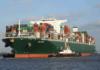 Die »Triton« der Reederei Costamare im Hamburger Hafen