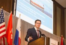 Knut Ørbeck-Nilssen kündigte auf der diesjährigen CMA Shipping die Umgestaltung des IACS an