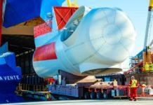 Siemens, Gamesa, Cuxhaven, Cuxport, Offshore, Logistik, Rotra Vente