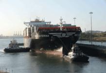 Die »MSC Caterina« ist das 3000. Neoepanamax-Schiff, das den Panamakanal passiert hat