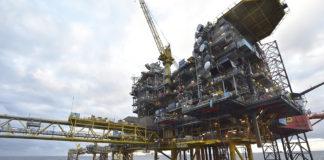 Maersk Oil offshore platform