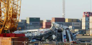 Unfall, Containerbrücke, Bremerhaven, Kran, Kabine