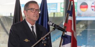 Der Inspekteur der Deutschen Marine, Vizeadmiral Andreas Krause