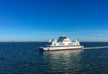 Norderaue in Fahrt