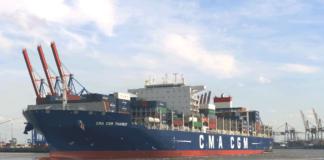 CMA CGM, Hamburg, Terminal